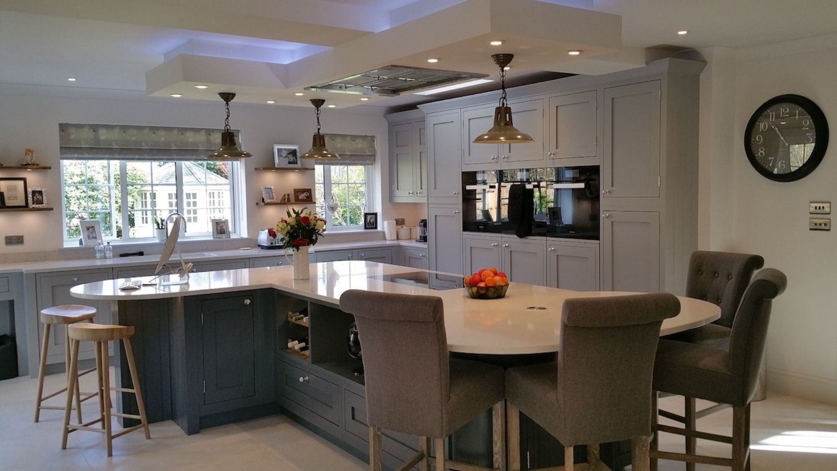 Hand painted shaker, real customer kitchen
