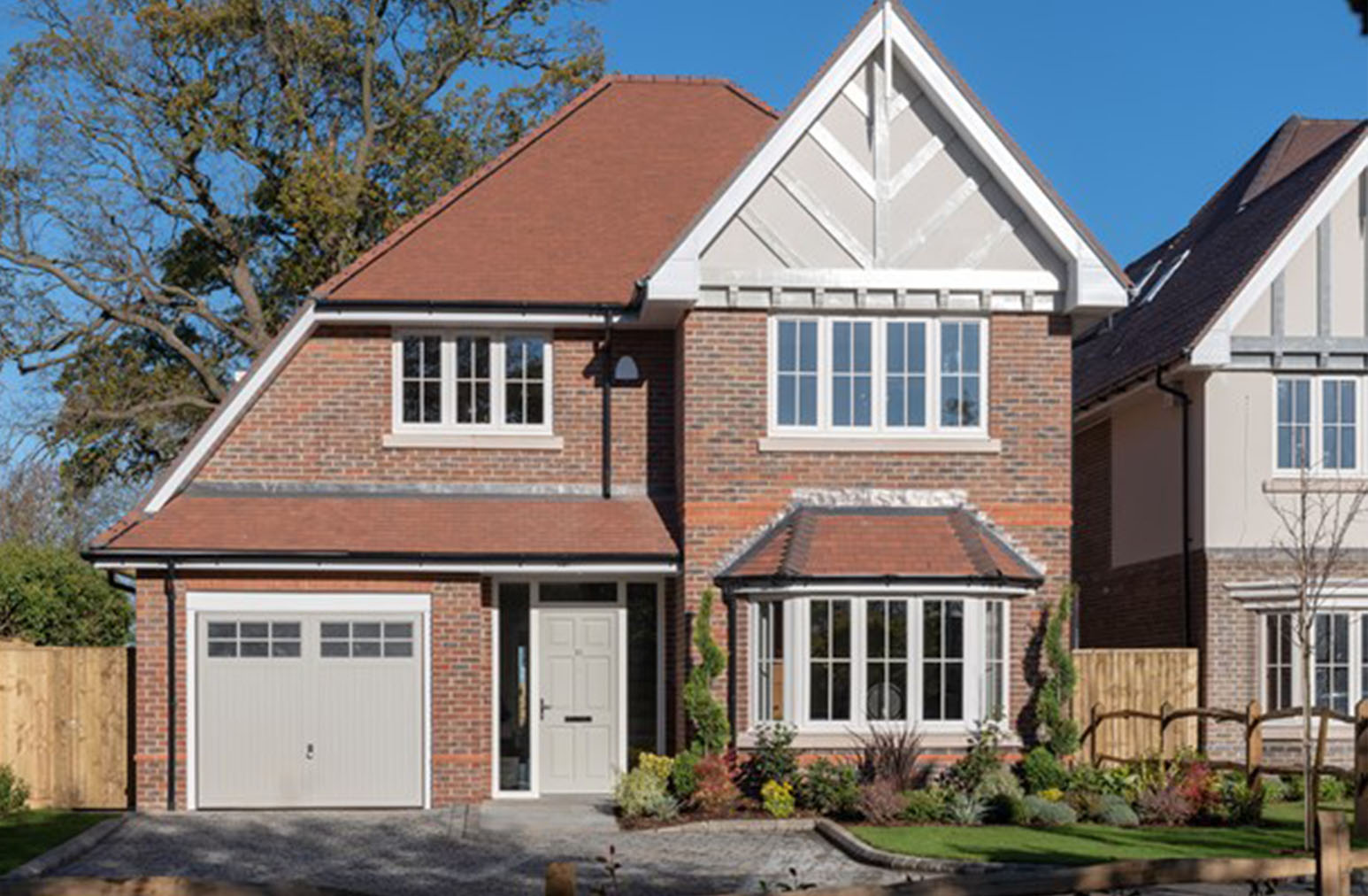 shanty homes - detached family homes - developers